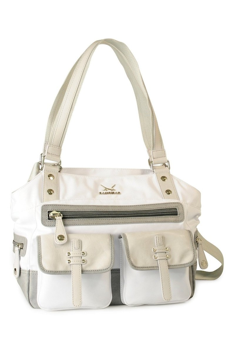 B-409 CI Shopper Bag A4, White, Gr. one size