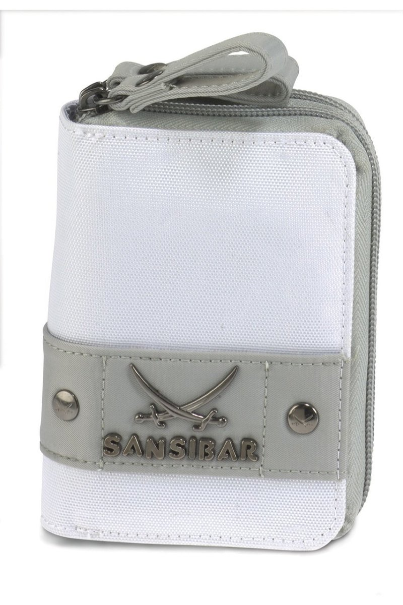 B-486 CA Wallet, White, Gr. one size