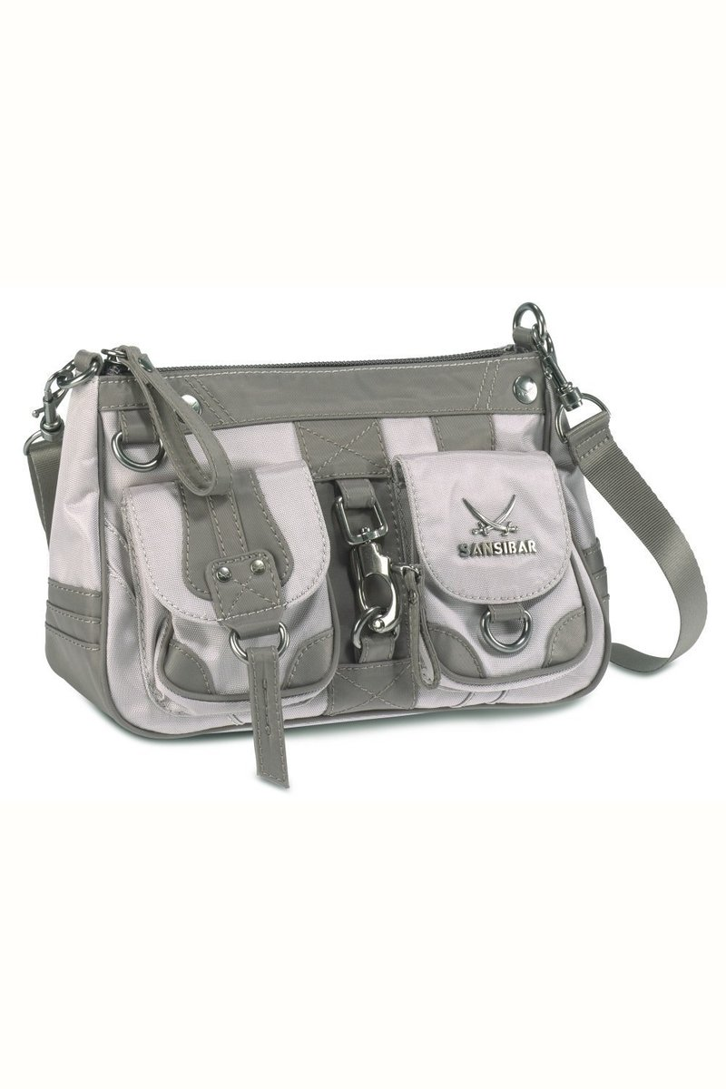 B-488 CA Zip Bag, Taupe, Gr. one size size
