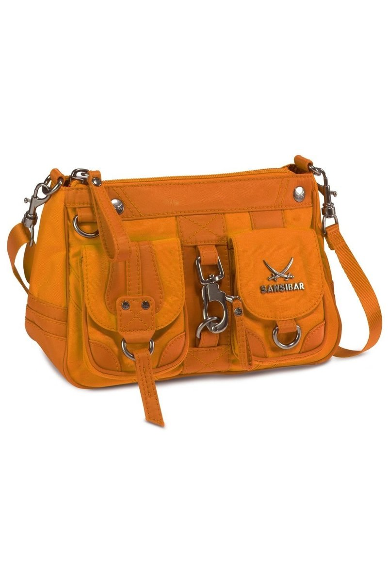 B-488 CA Zip Bag, Orange, Gr. one size size