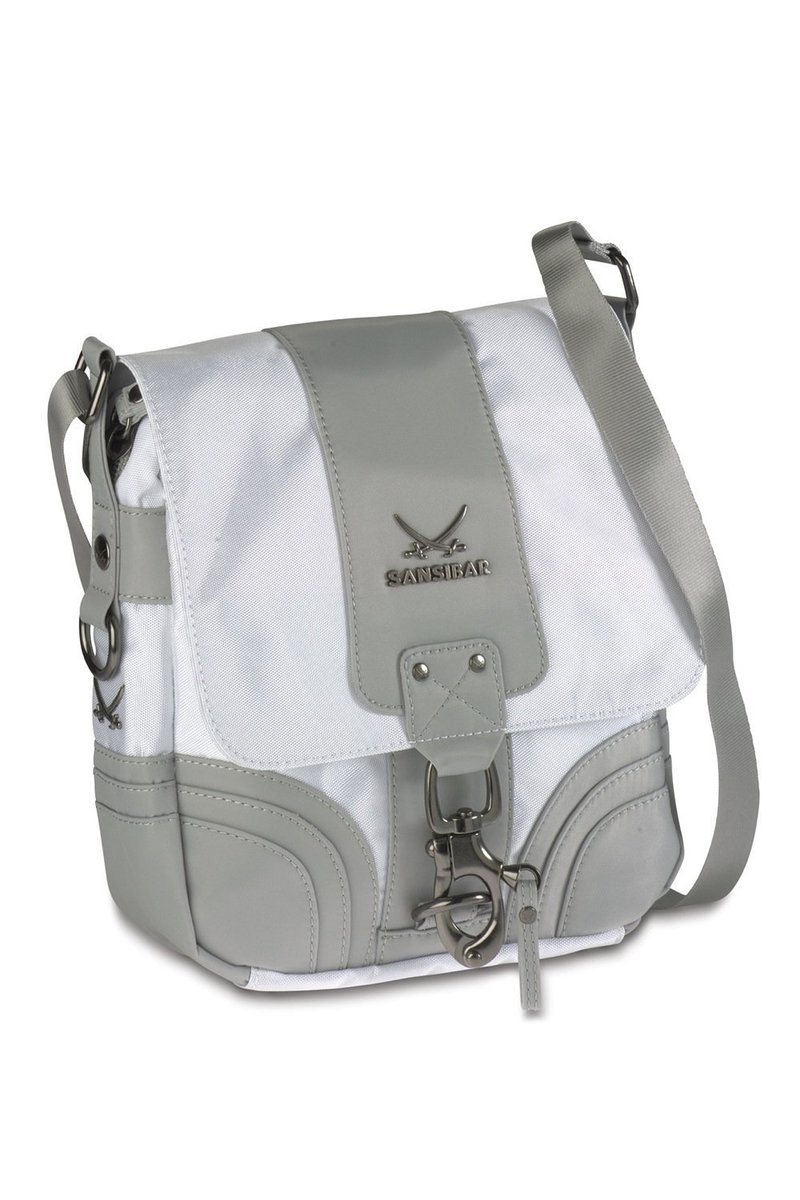 B-495 CA Crossover Bag, White, Gr. one size