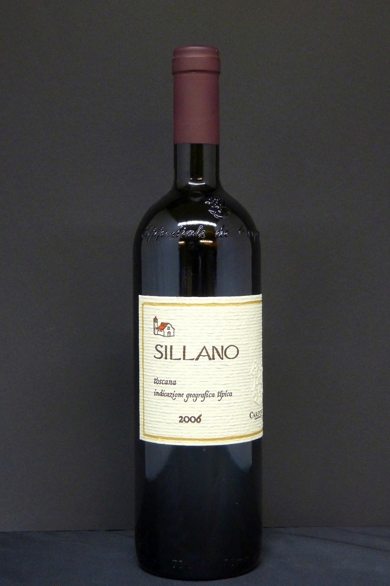 2006er Carpineto Sillano Supertuscan IGT Trocken 14,0 %Vol 0,75Ltr