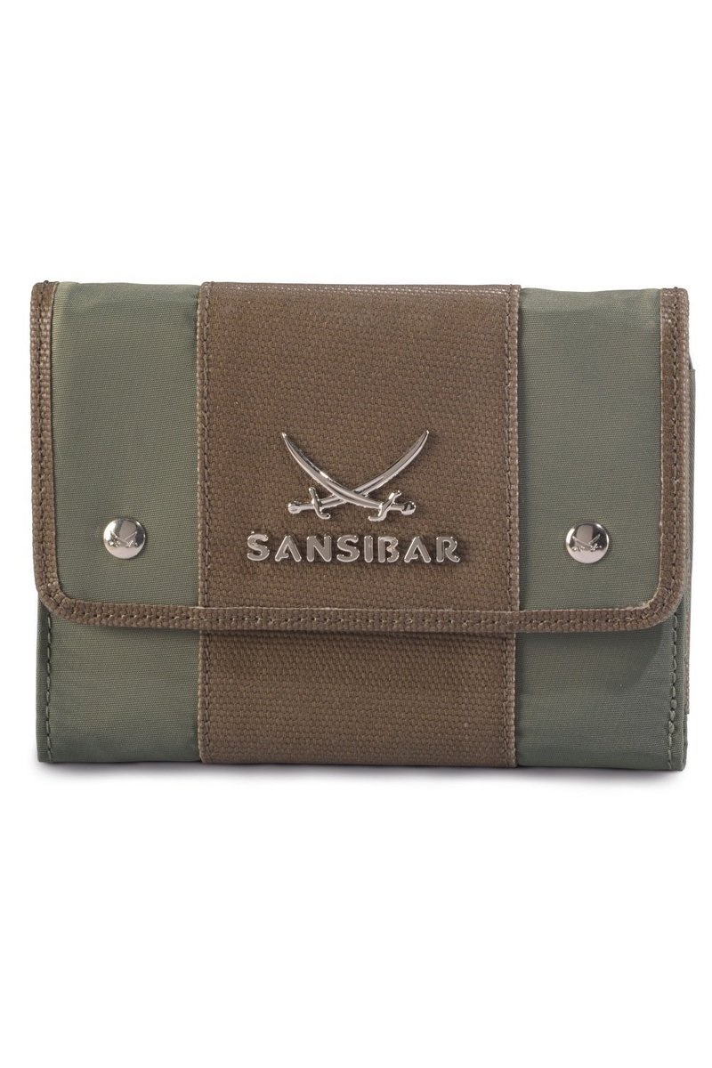 B-328 TY Wallet, Olive, Gr. one size