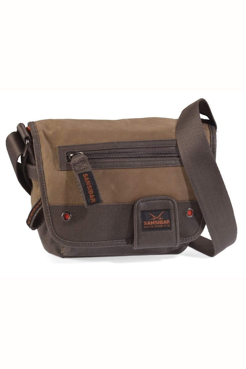 B-441 SU Flap Bag, Tobacco, Gr. one size
