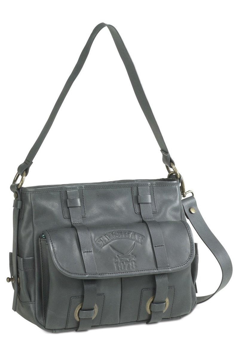 B-107 BY Shoulder Bag, Stone, Gr. one size