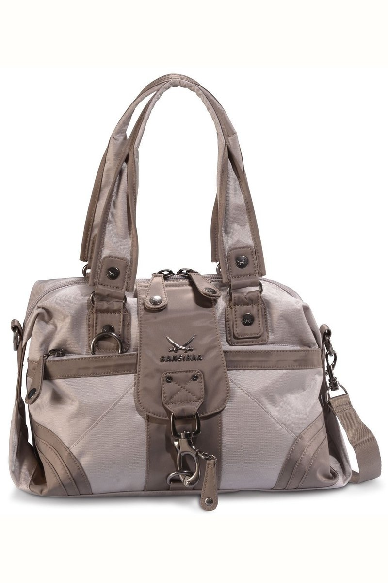 B-509 CA Zip Bag, Taupe, Gr. one size size