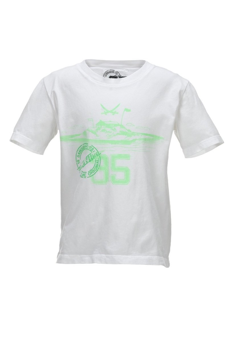 Kinder T-Shirt 35 Years, White, Gr. 104/110