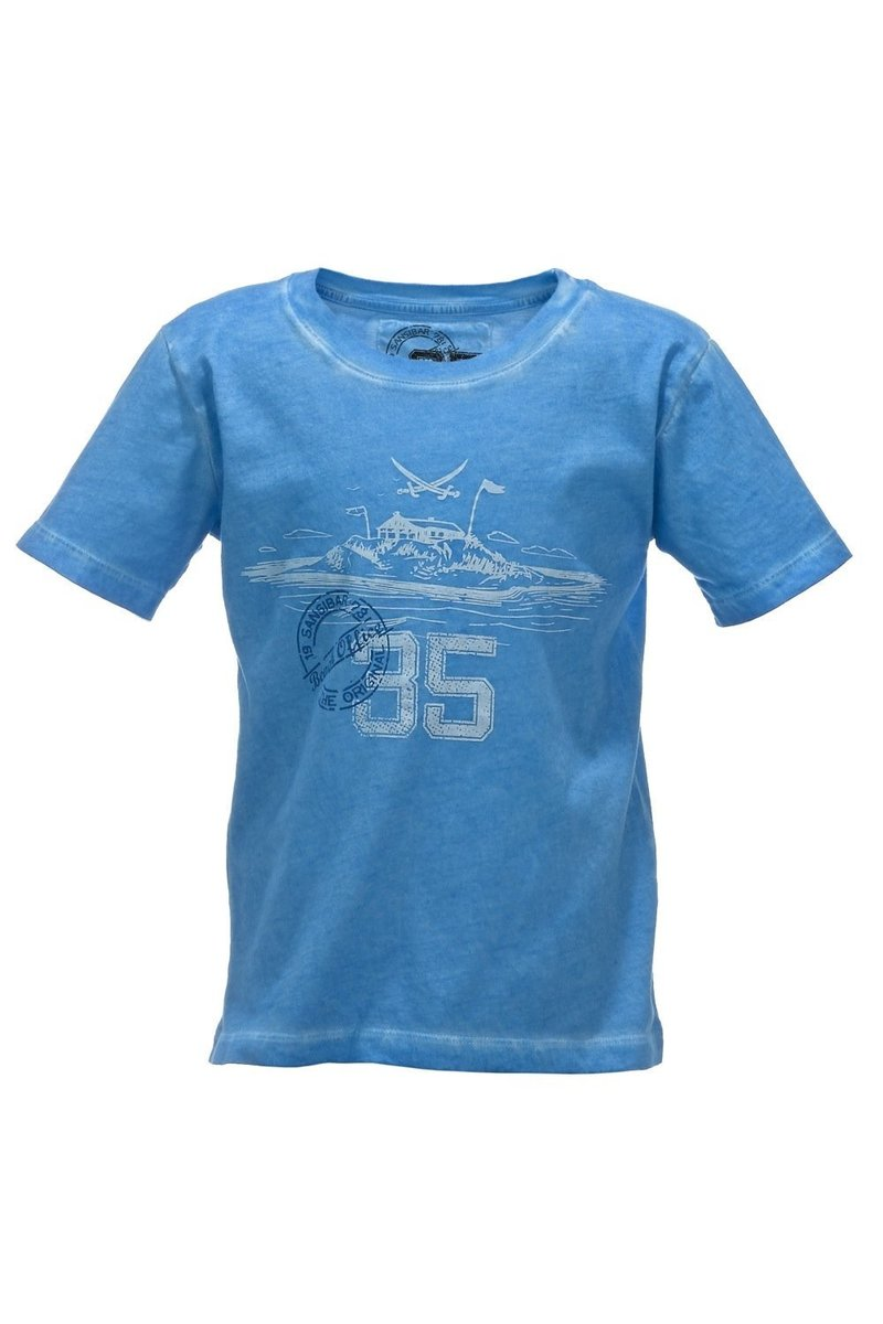 Kinder T-Shirt 35 Years, Lightblue, Gr. 140/146