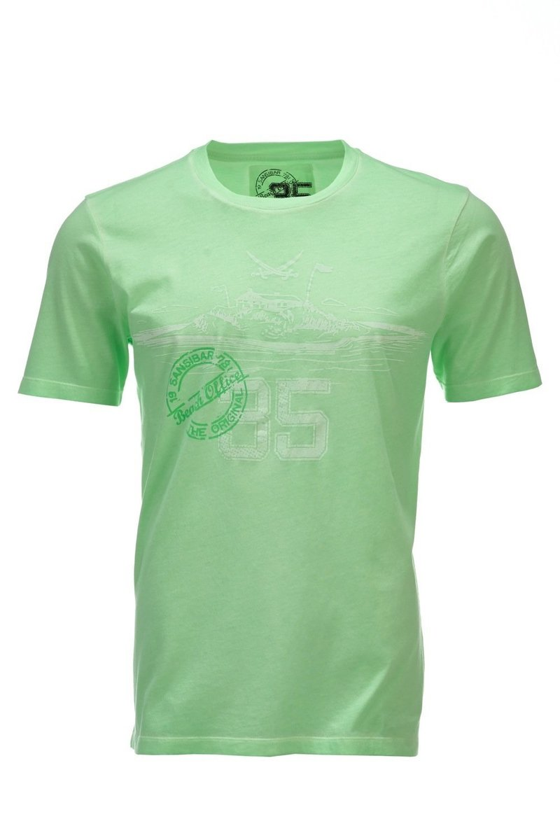 Herren T-Shirt 35 Years, Neon green, Gr. XL