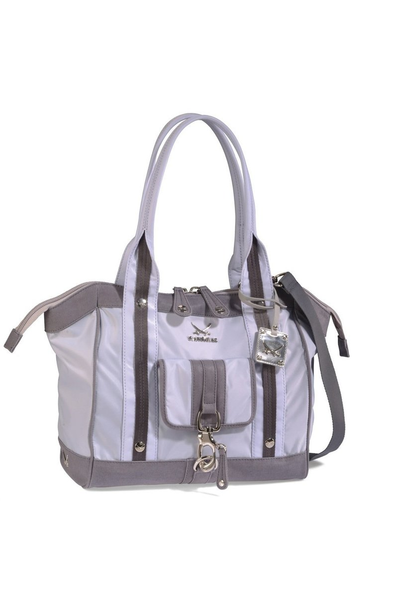 B-349 TY Shopper Bag A4, Grey, Gr. one size