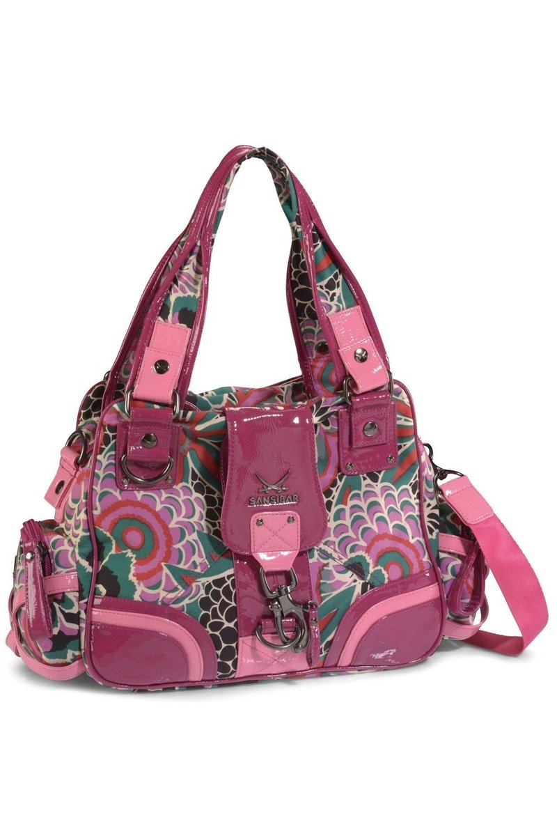 B-546 CP Shopper Bag A4, Berry, Gr. one size