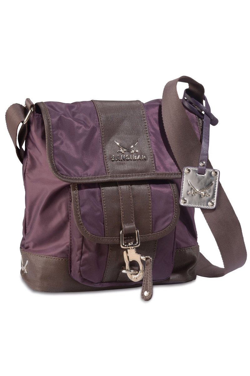 B-341 TY Crossover Bag, Aubergine, Gr. one size