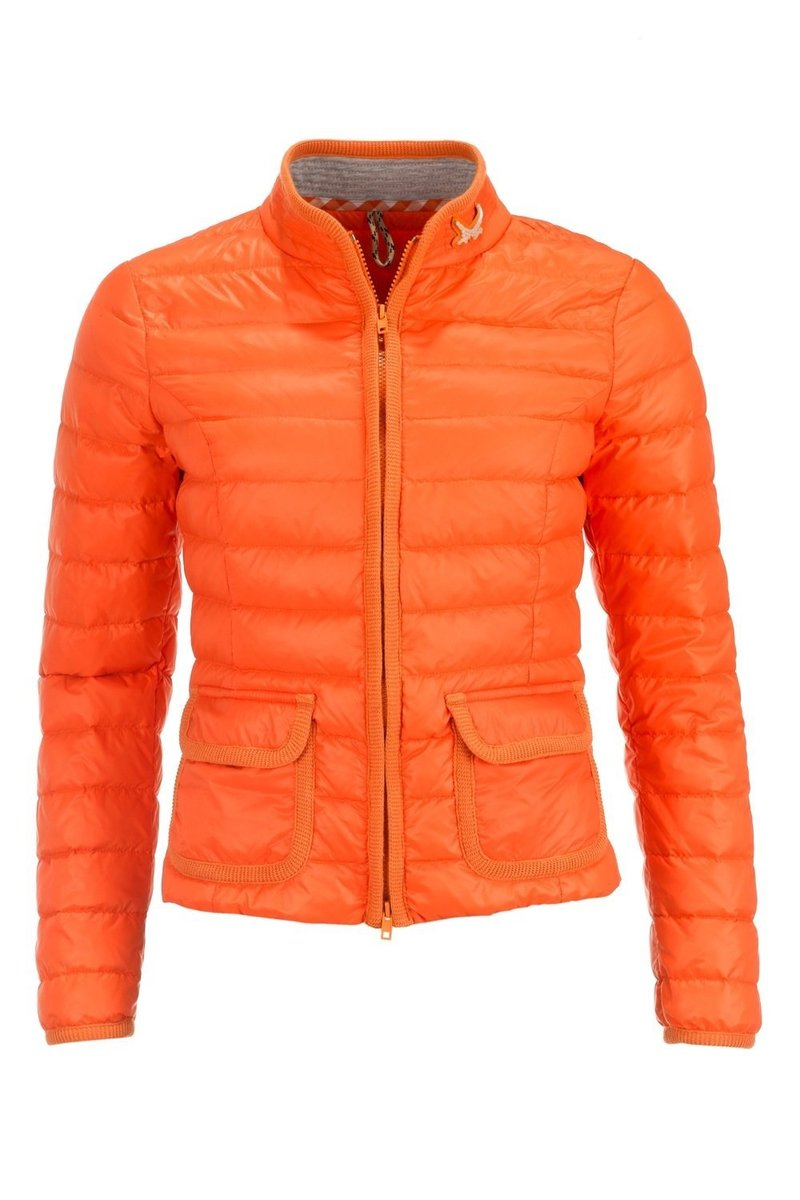 online retailer c2a70 f483f Damen light Daunenjacke, Orange, Gr. XXL