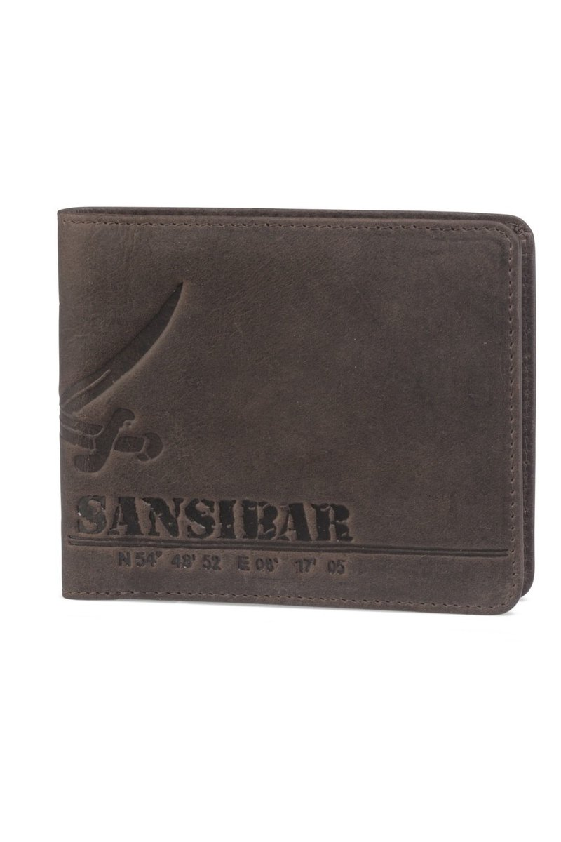 B-724 VE Wallet, Espresso, Gr. one size