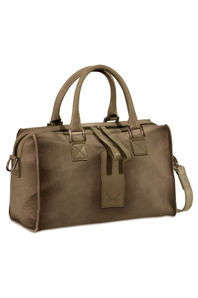 B-777 AE Zip Bag, Taupe, Gr. one size