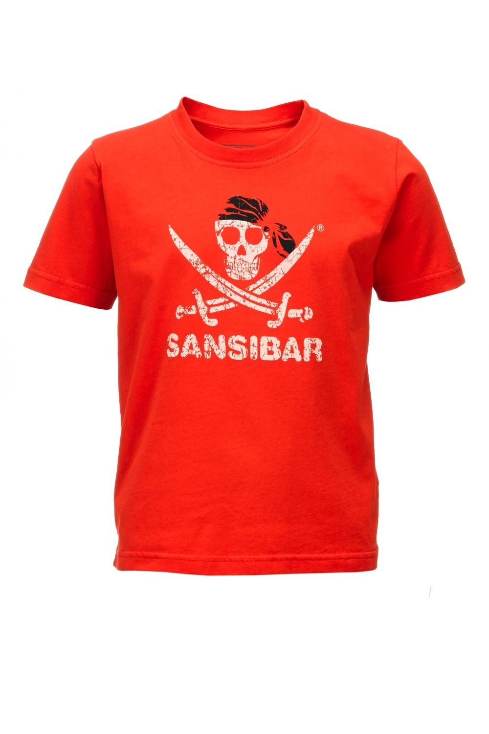 Kinder T-Shirt SKULL , Grenadine, Gr. 152/158