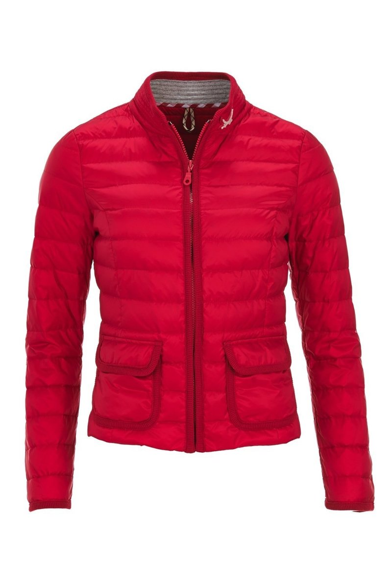 Damen light Daunenjacke, Koralle, Gr. S