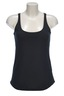 Damen Top Pima Cotton, Black, Gr. XXXL Gr. XXXL