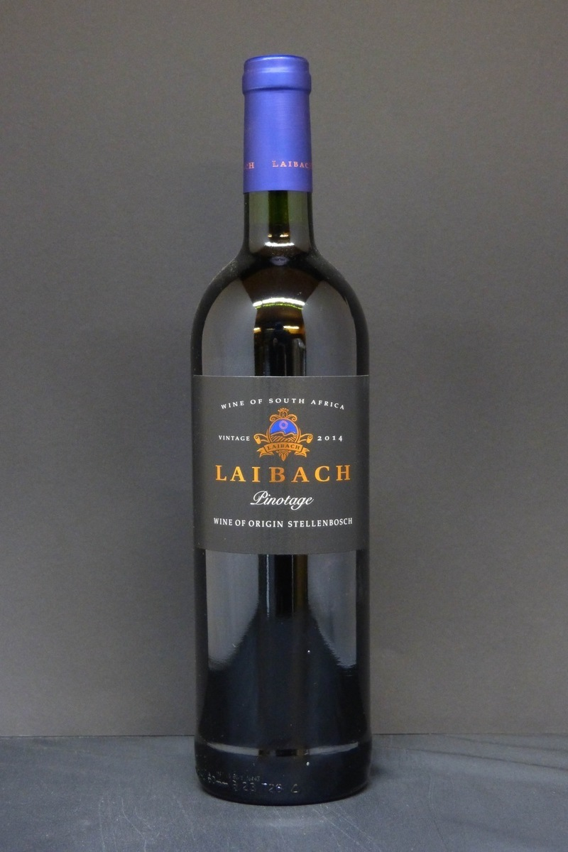 2014er Laibach Vineyards Pinotage 14,0 %Vol 0,75Ltr
