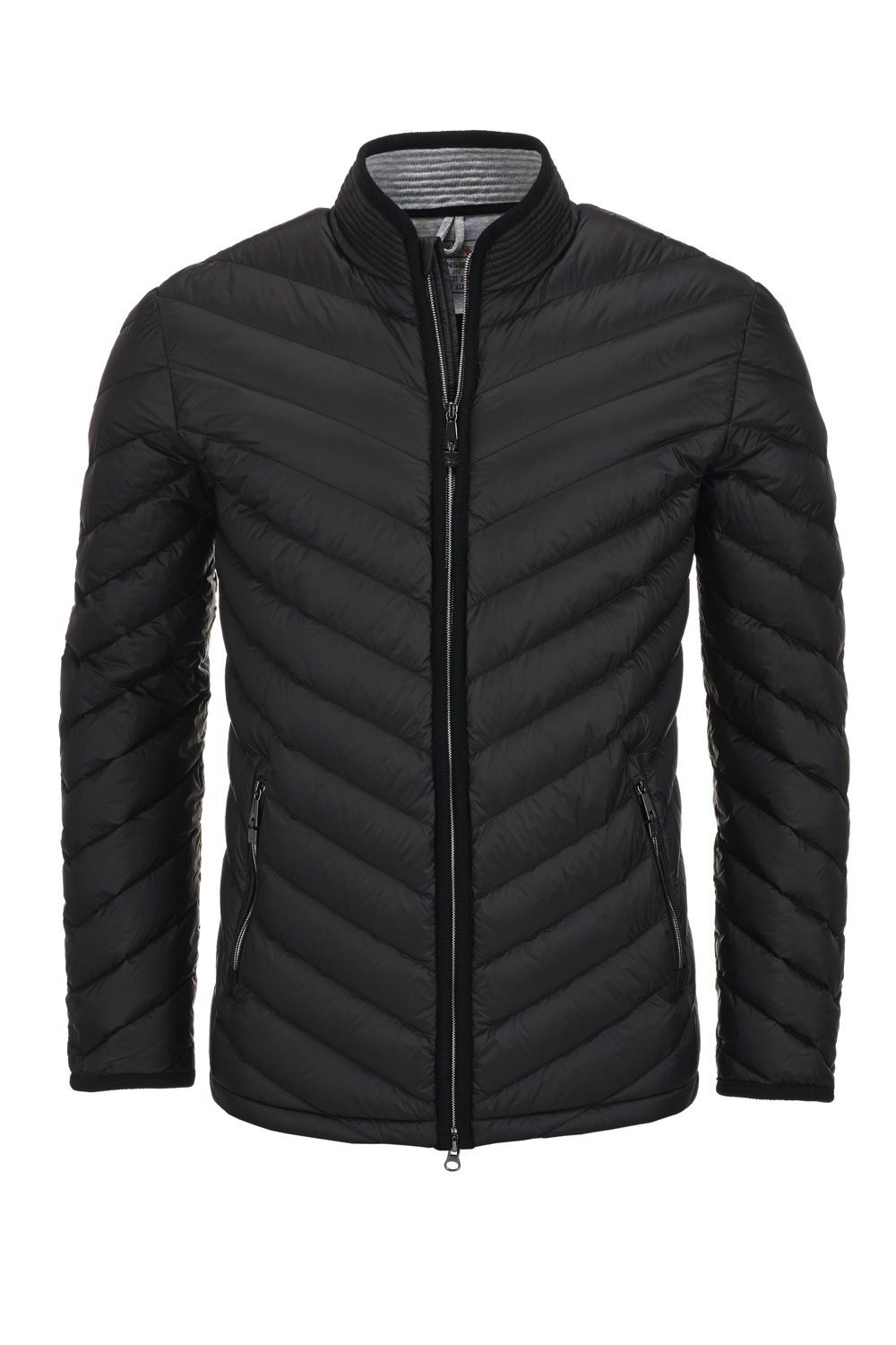 Herren Daunenjacke LIGHT , BLACK, XS