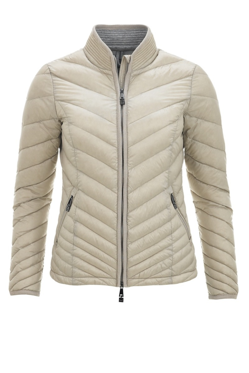 Damen light Daunenjacke JUST, Perlmutt, Gr. XXXL