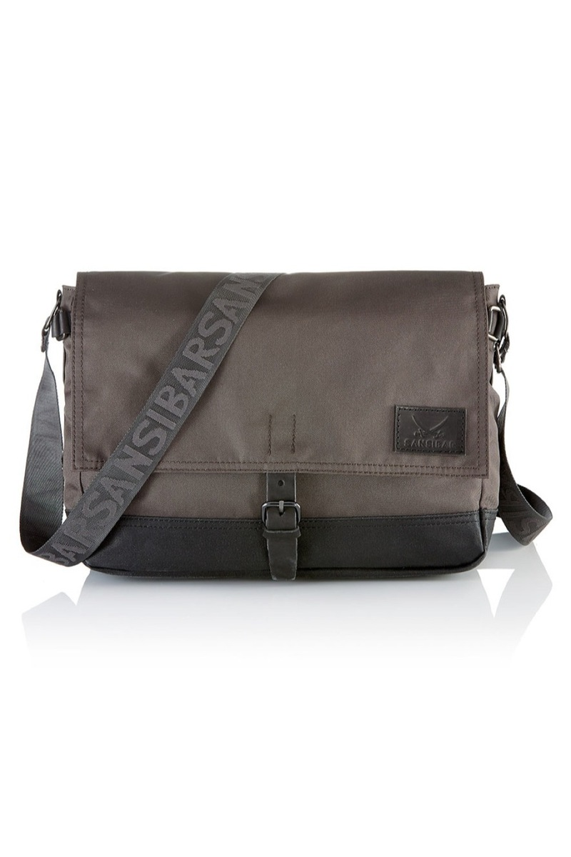 B-626 TD Flap Bag, Taupe, Gr. one size