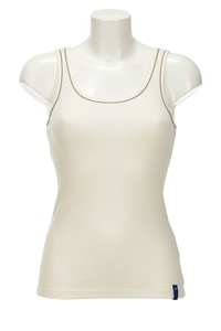 Damen Top CHAIN, Offwhite, Gr. XXL