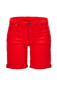 Damen Jeans Bermuda 6525_6645_783, Poppy red, Gr. 29