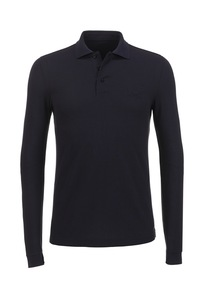 Herren LA Poloshirt PIMA COTTON , black, XL