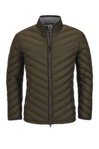 Herren light Daunenjacke JUST , Olive, Gr. S