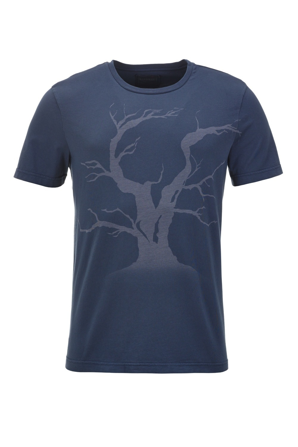 Herren T-Shirt TREE, Blue/ blue, Gr. XL