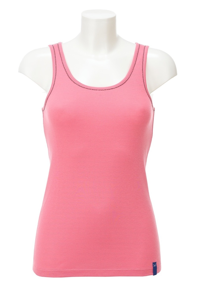 Damen Top CHAIN, Pink, Gr. L