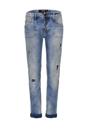 Damen Jeans Tira 6515_5636_529, Light stone used printed, Gr. 24/32