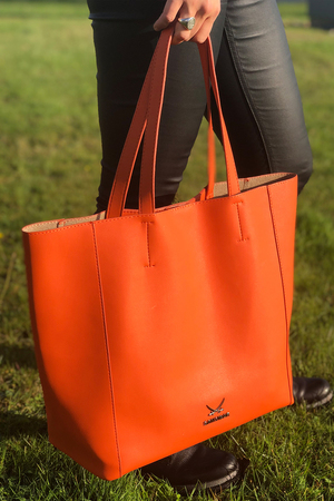 SB-2063-040 Shopper , one size, ORANGE
